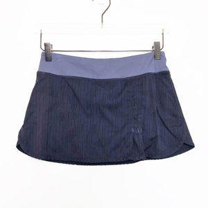 Lululemon   Violet Wet Dry Warm Running Skort